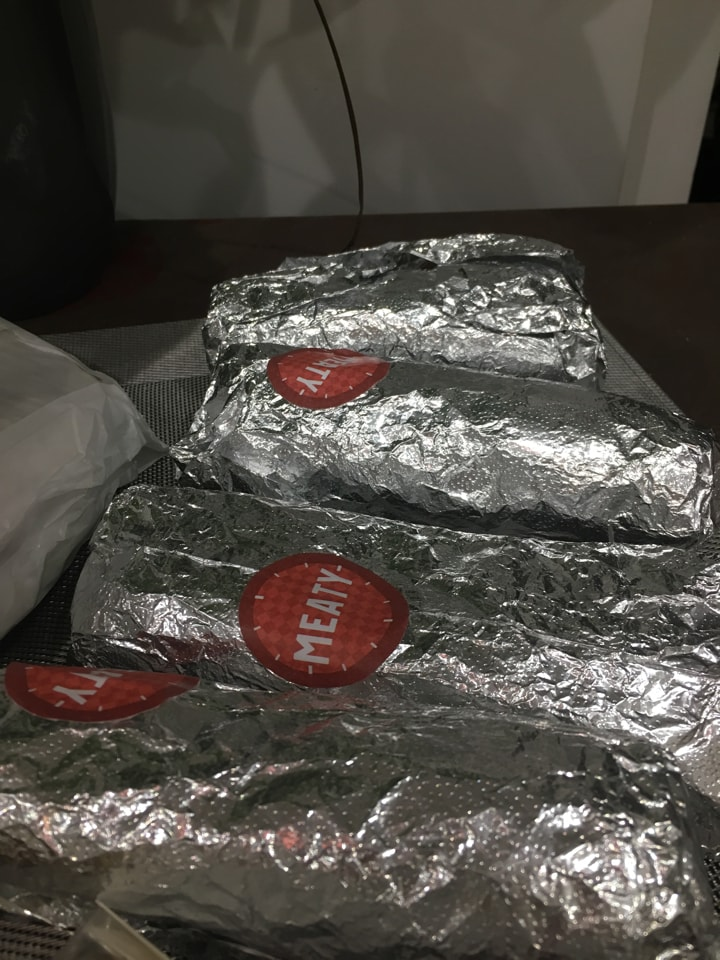 FRISKA meat burritos