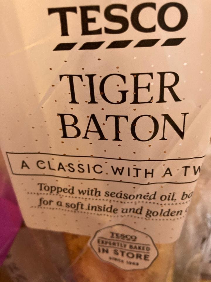 Tiger baton bread