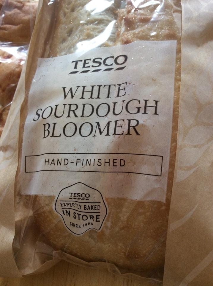 Soughdough bloomer