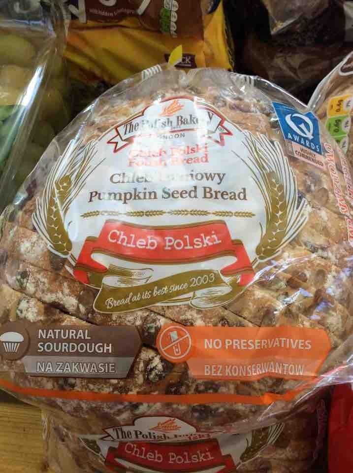 Polish sourdough pumpkin seed