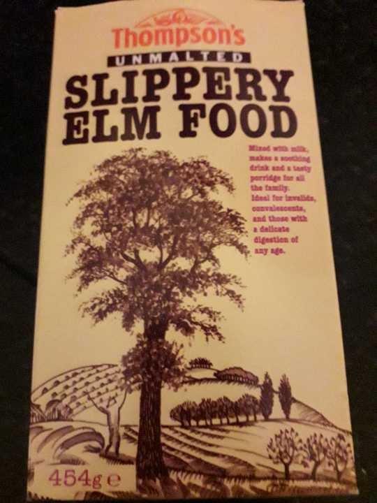 Slippery elm food