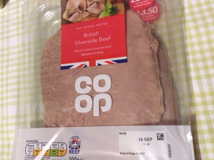 British Silverside Beef