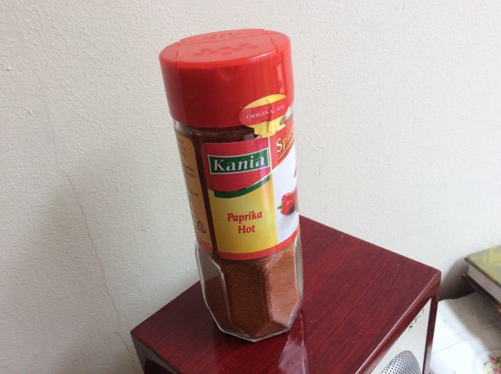 Hot paprika unopened
