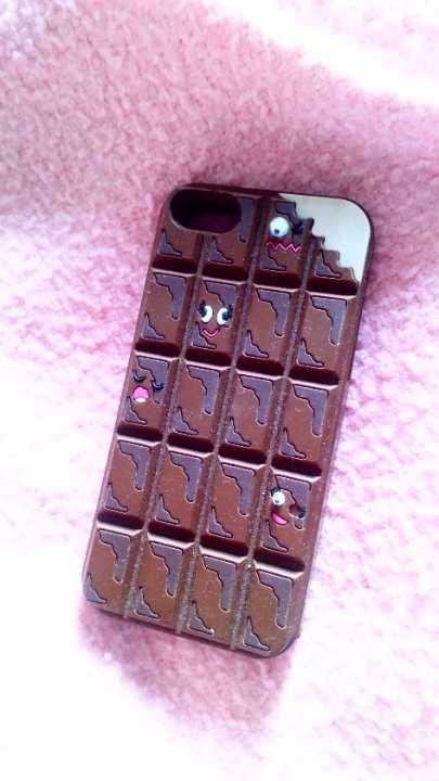 Chocolate bar phone cover