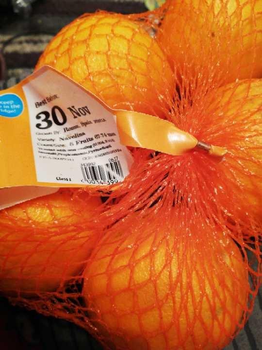 Pack 5 Oranges