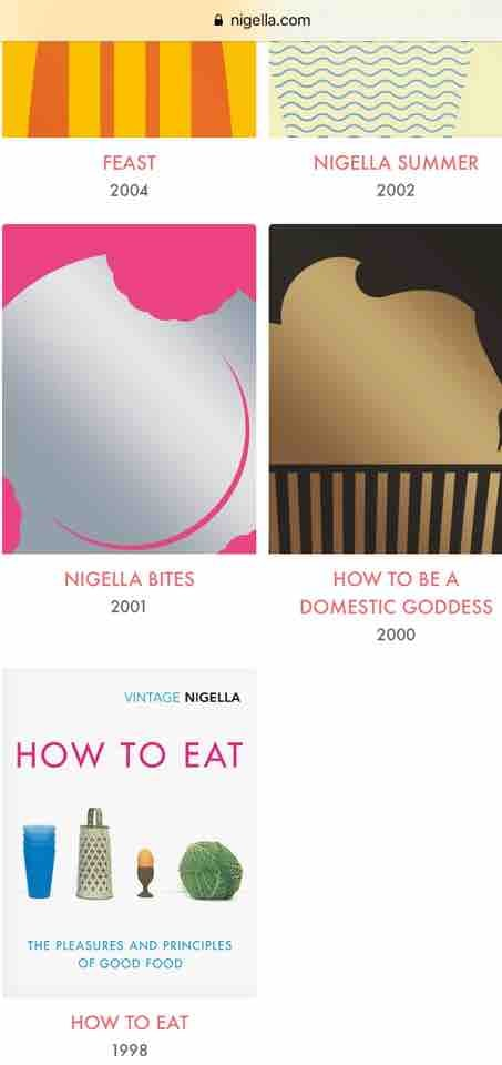 Wanted Nigella recipe books, any