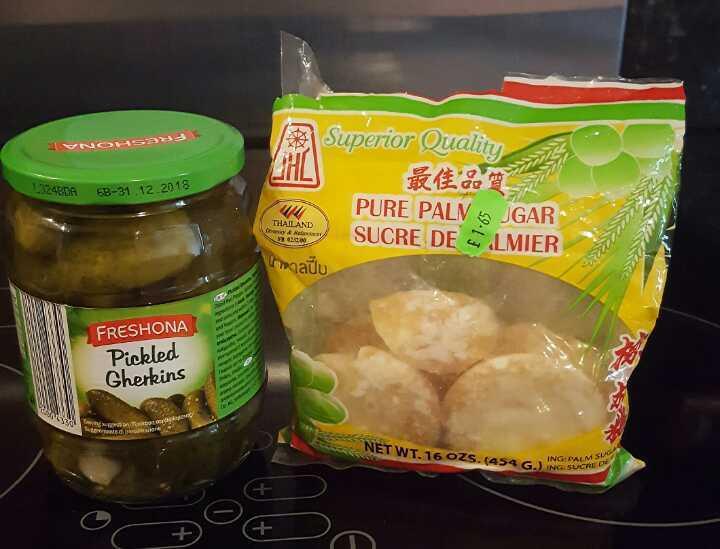 Picked Gherkins & Pure Palm Sugar