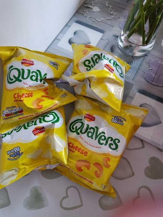 Quavers x 4 packs