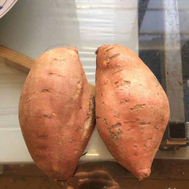 Giant sweet potatoes