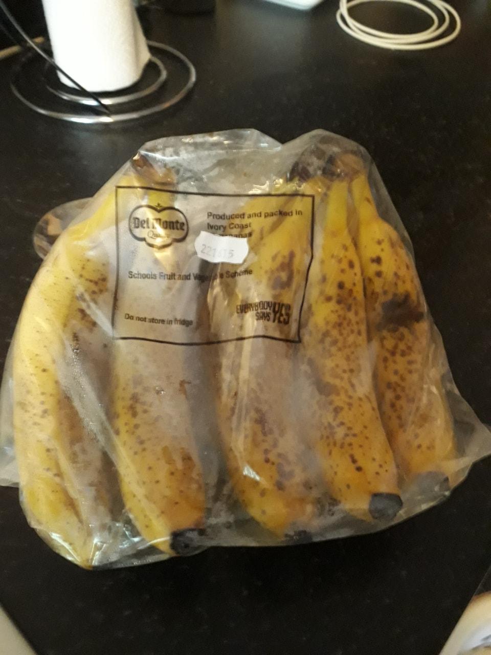 10 ripe bananas
