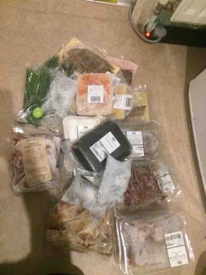 Freezer clear out - grass fed organic meat and fish