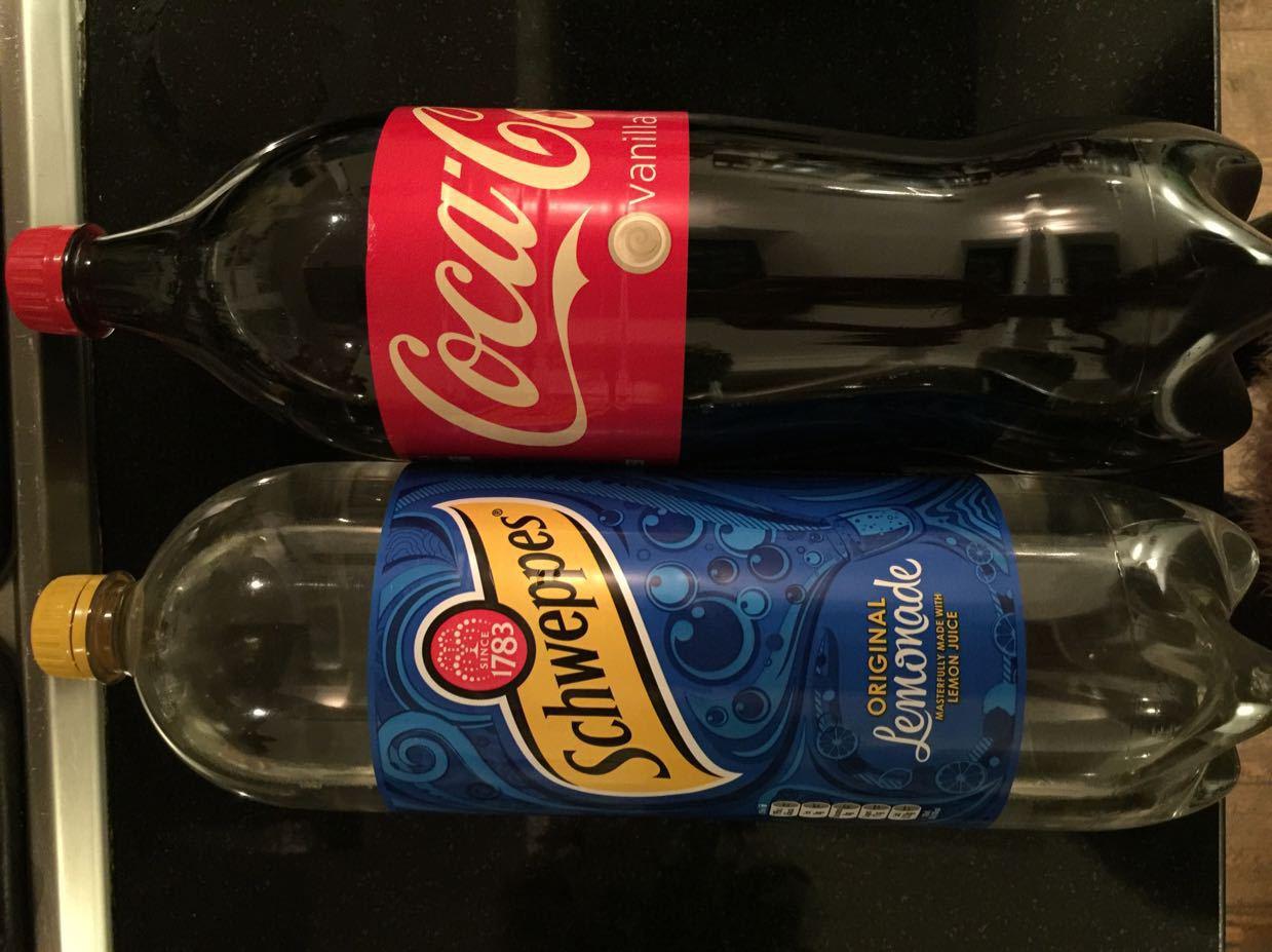 Vanilla Coke and lemonade