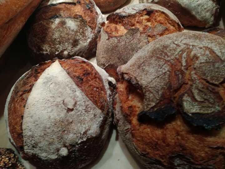 Artisan dark bread