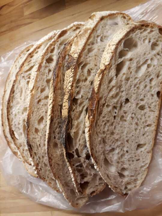 Bread slices  from Il café