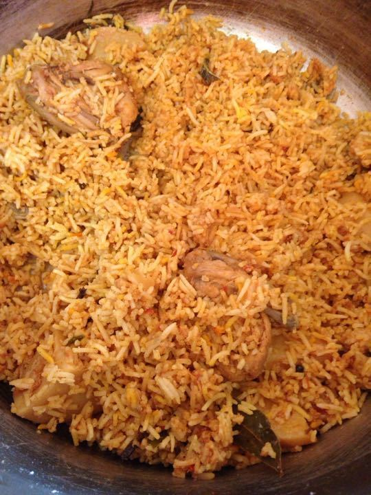 Halal Chicken Biryani