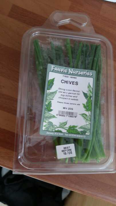 Packet of chives