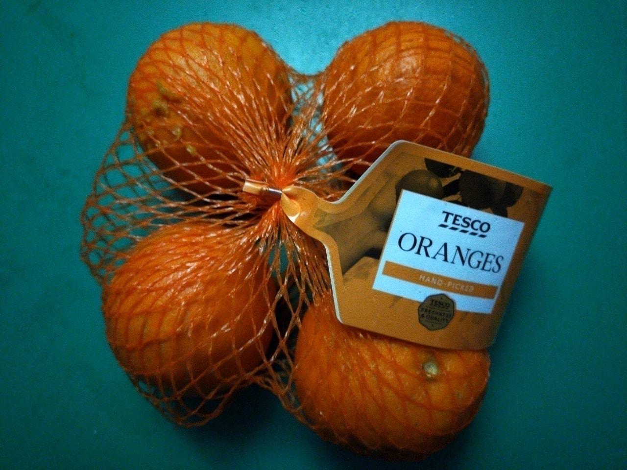 Tesco oranges