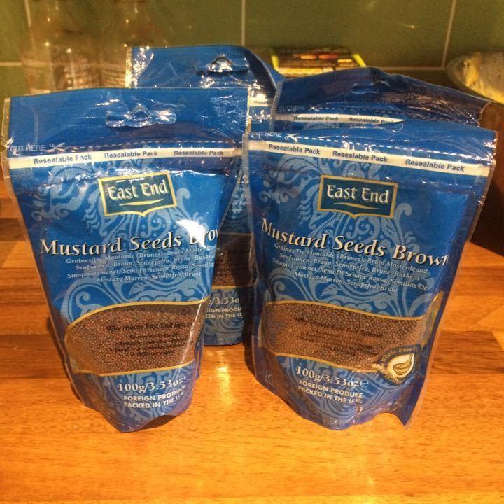 Mustard seeds!