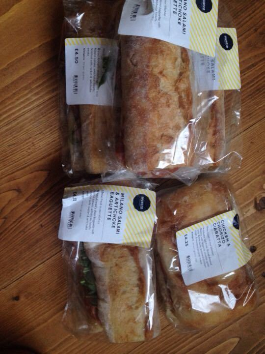Various sandwiches - Sourced Victoria