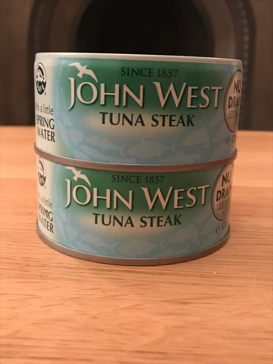 John West Tuna steaks