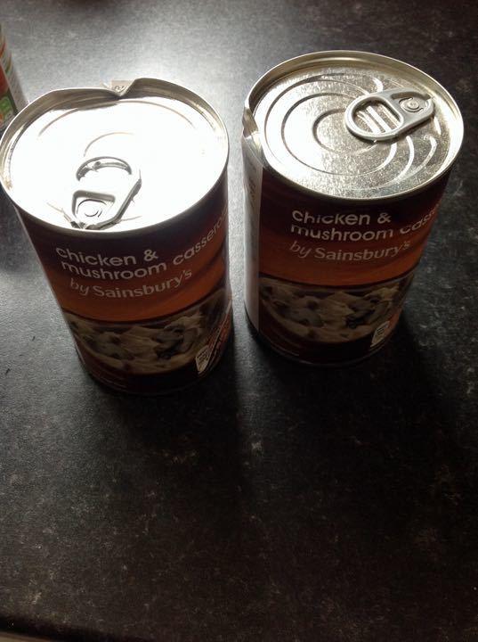 X2 chicken and mushroom casserole