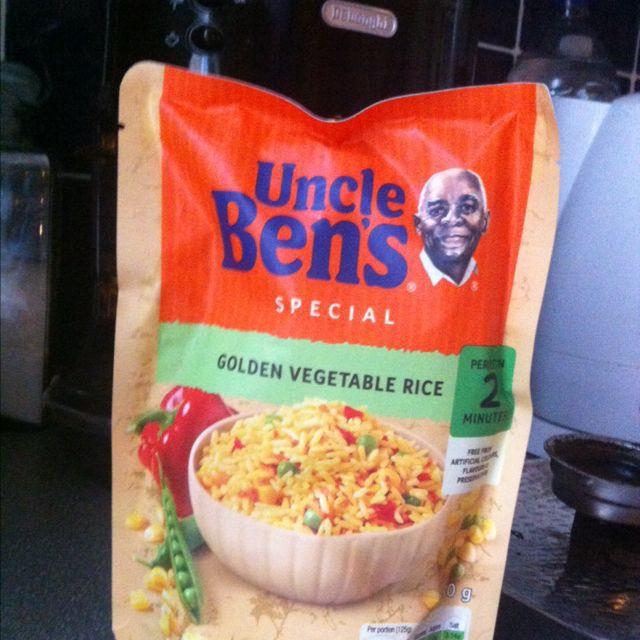 Uncle Ben's Golden Rice