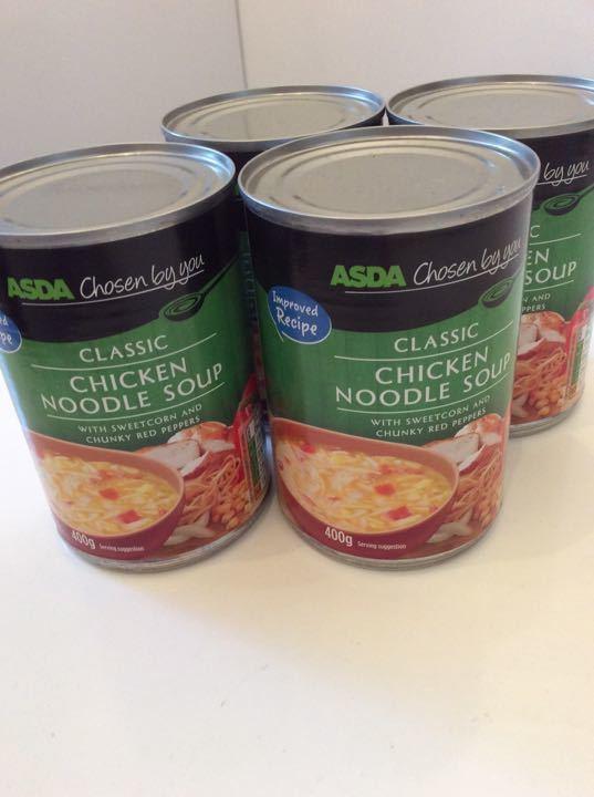 ASDA Chicken Noodle Soup
