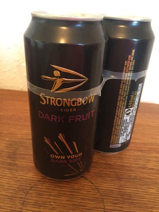 Strong bow Cider Dark Fruit