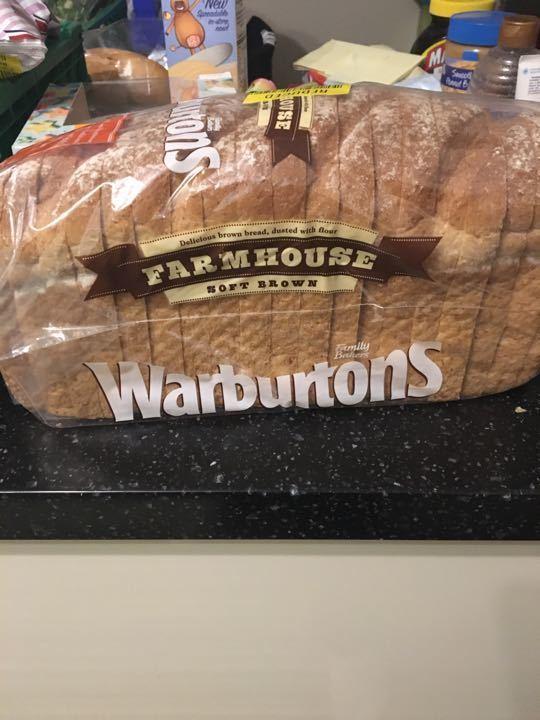 Warburtons soft brown bread