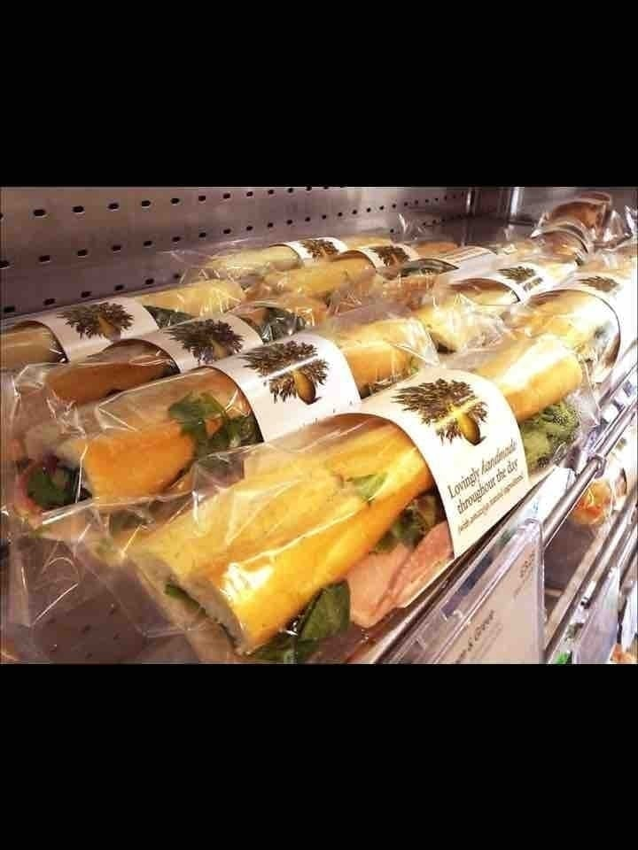 Pret baguettes  (veggie)