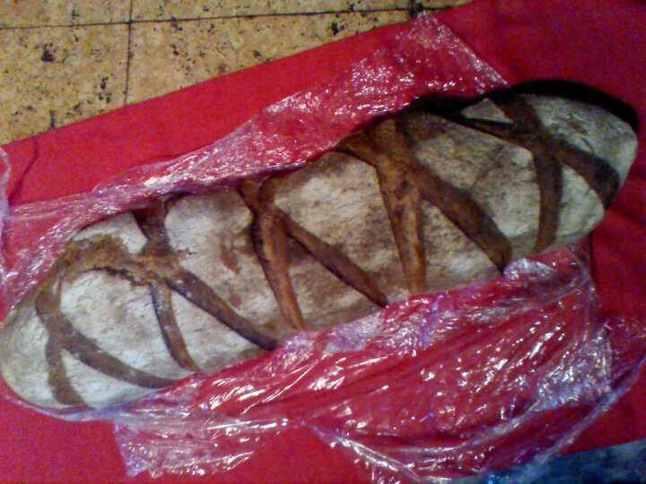 Very Large Loaf of  Wonderful Sourdough Bread