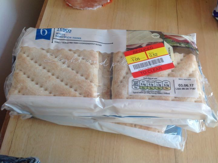 White thins from Tesco Alliance