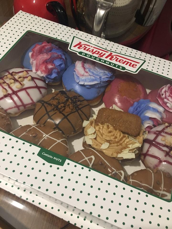 Selfridges - donuts from Krispy kreme