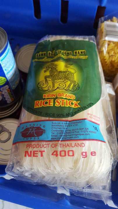 Rice stick noodles