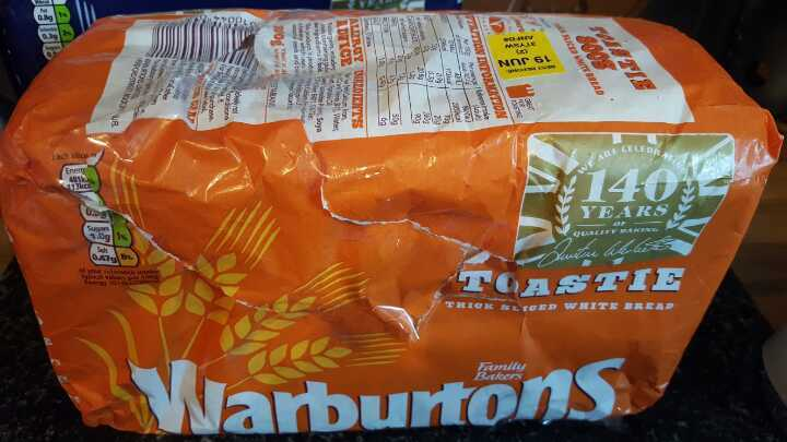 Warburtons thick sliced white bread