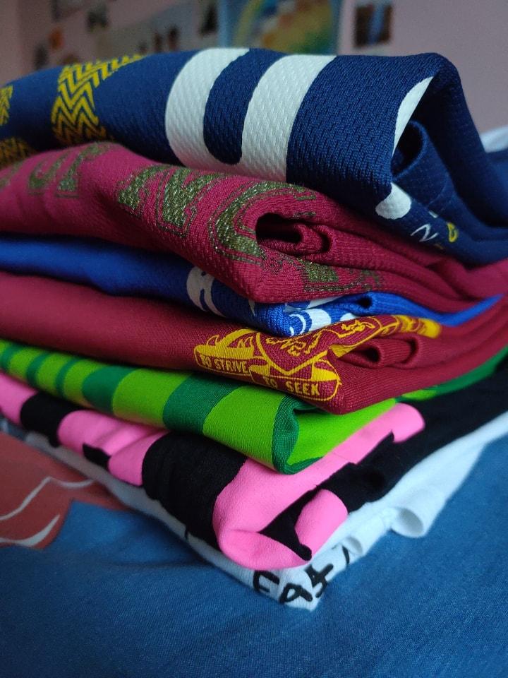 T-shirts (cotton and drifit)