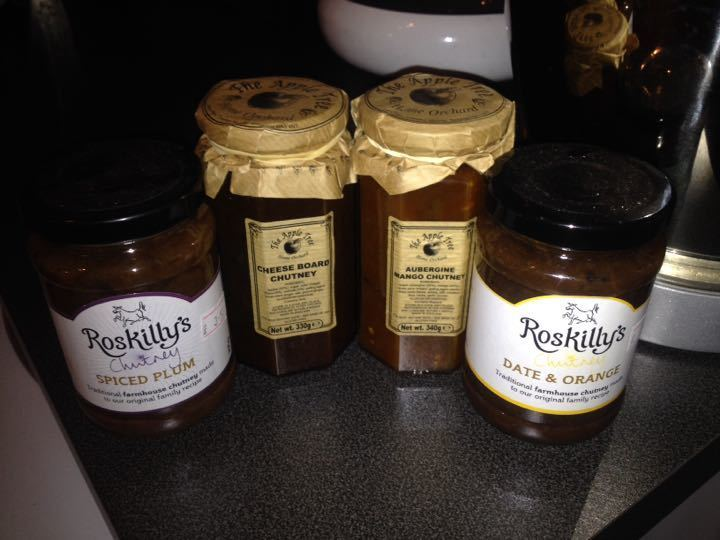 **pending collection** Chutney x 4
