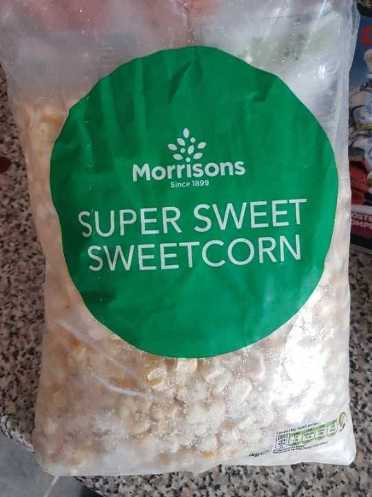 Frozen sweetcorn