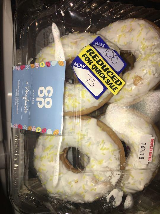 4 doughnuts