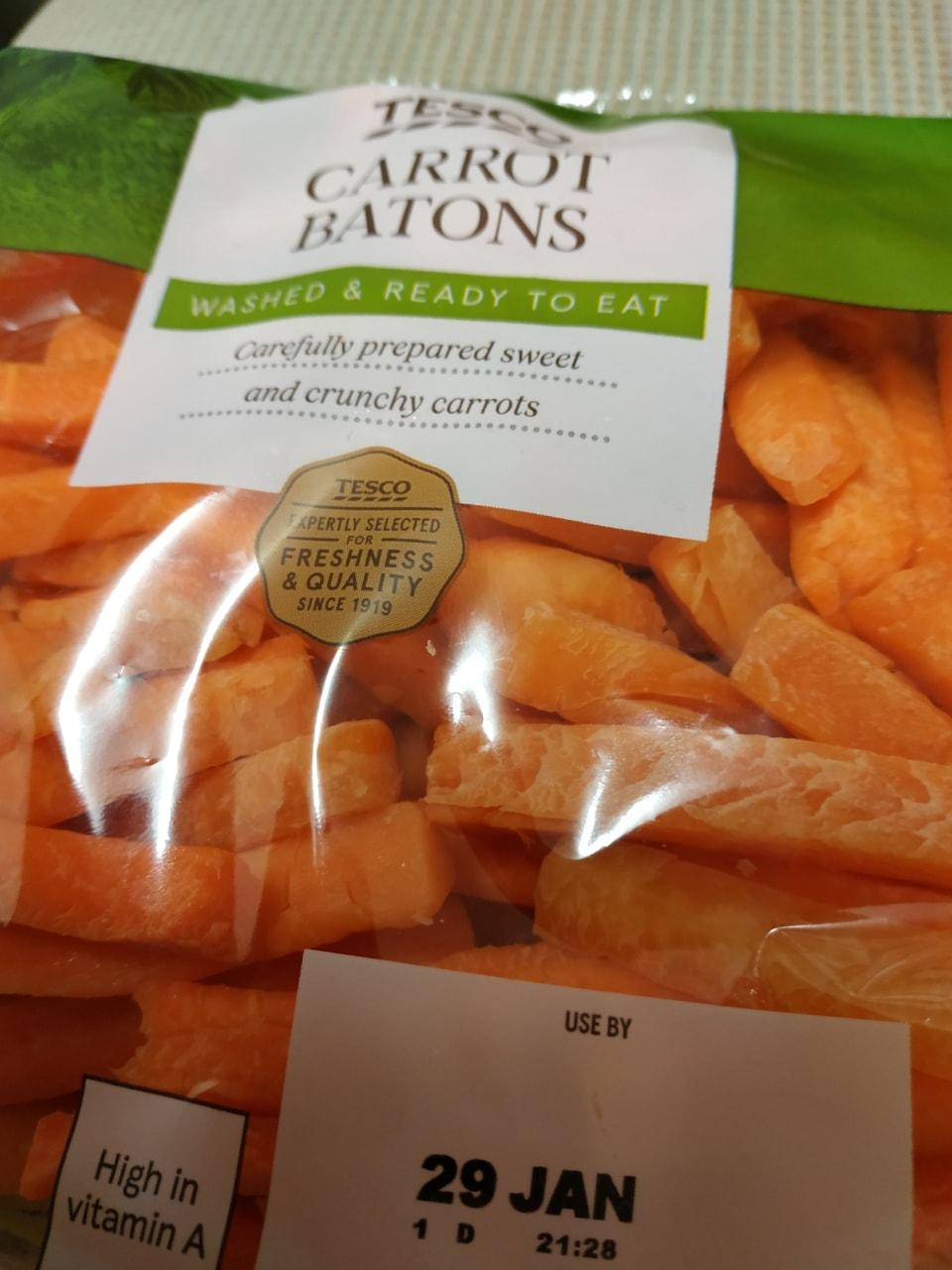 Carrot battons