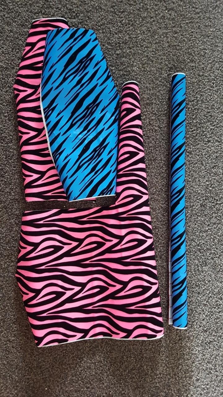 Zebra book coverings