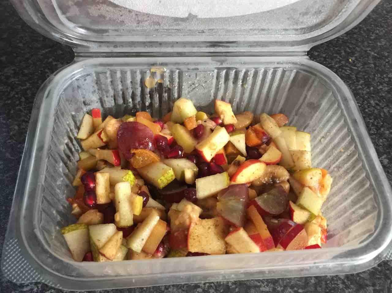 Fruit chaat ( indian style fruit salad)