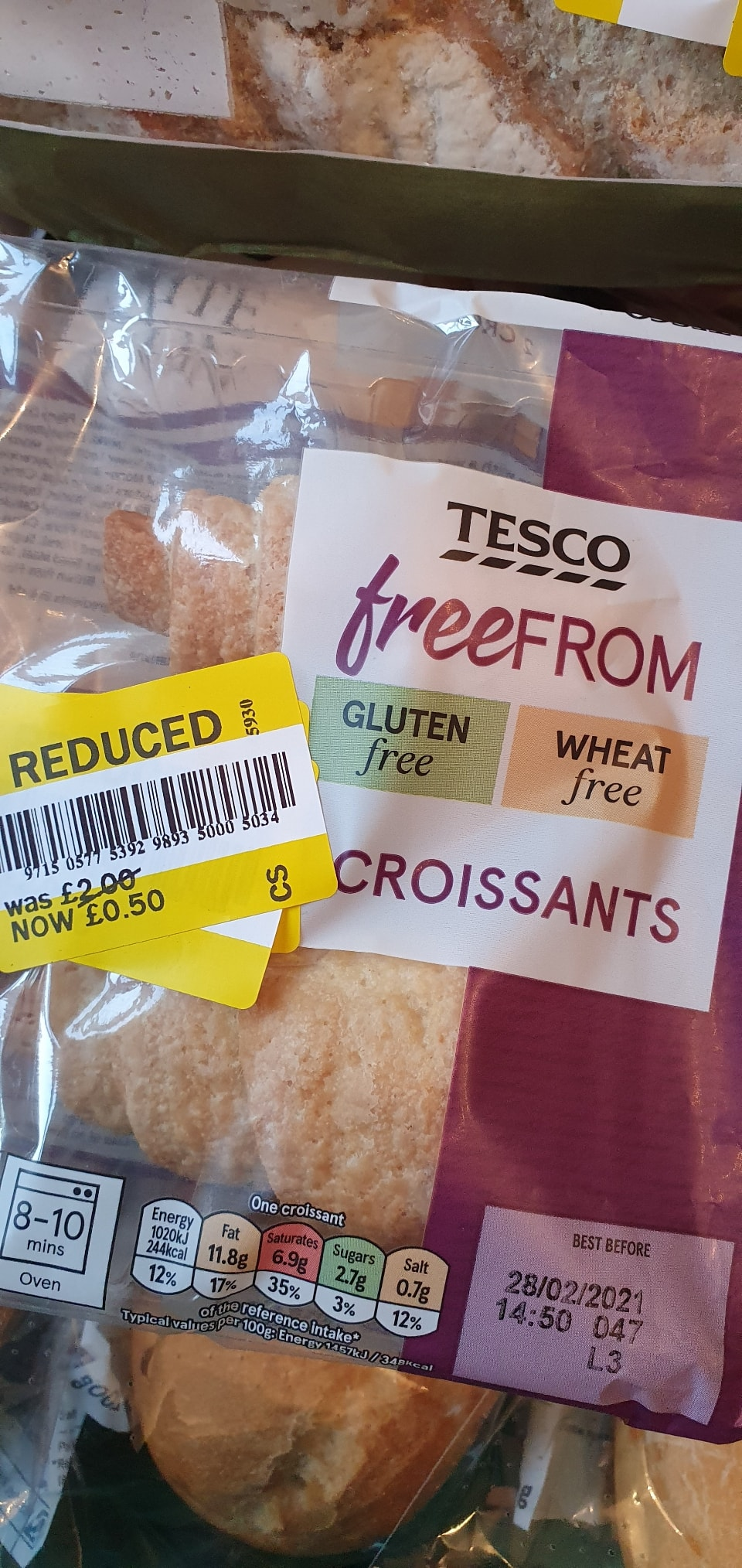 Free from croissants