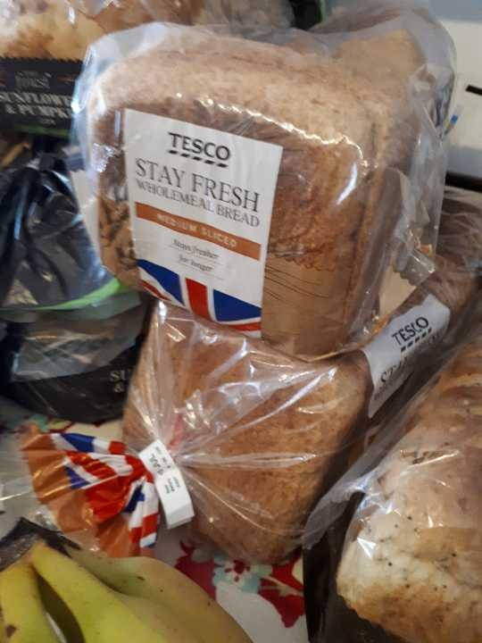 Tesco Wholemeal Bread