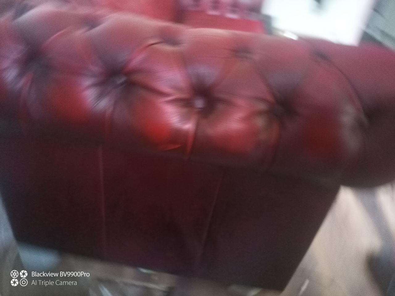 Oxblood chesterfield 3 seater