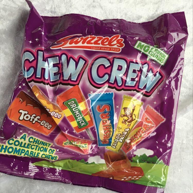 Bag of swizzles sweets chew crew