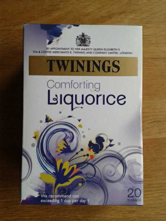 Liquorice tea bags