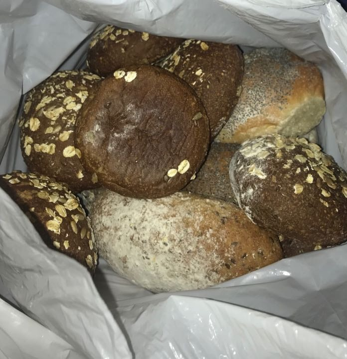 Fresh bread from Pesso