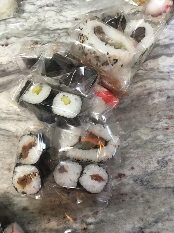 Sushi portion