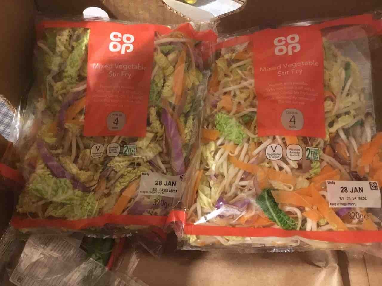 Mixed veg stir fry x2